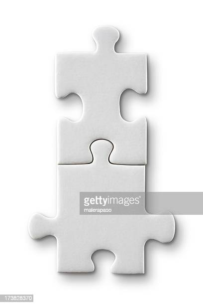 puzzle connection - part of stock pictures, royalty-free photos & images