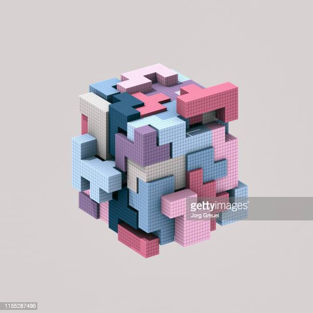 3d puzzle - image manipulation stock pictures, royalty-free photos & images