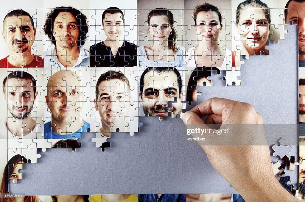 Puzzle : Stock Photo
