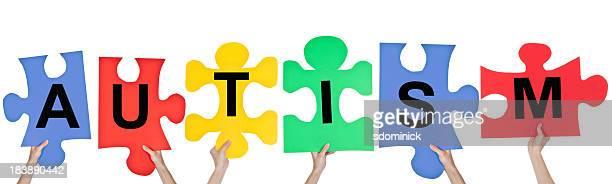 Puzzle Pieces Spelling Autism