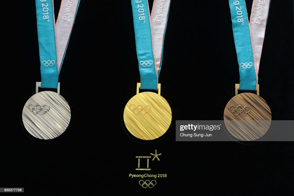 PyeongChang 2018 Olympic Medal Unveiling Ceremony : News Photo