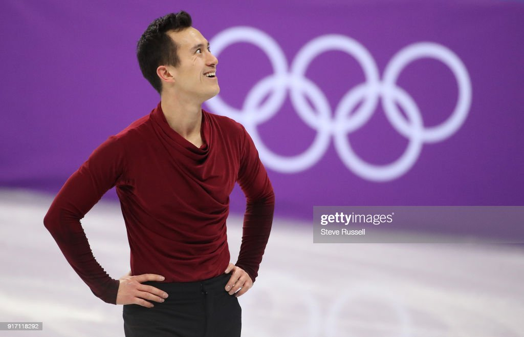 GANGNEUNG, Pyeongchang- FEBRUARY 11 - Patrick Chan of Canada set a season's best in the Men's single free skating program in PyeongChang 2018 Winter Olympics Figure Skating team event at the Gangneung Ice Arena at the 2018 Pyeongchang Winter Olympics in Gangneung in Pyeongchang in South Korea. February 11, 2018.