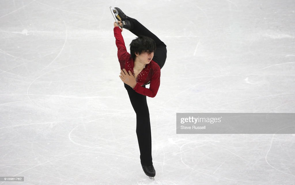 in the Men's single skating program in  PyeongChang 2018 Winter Olympics Figure Skating  team event