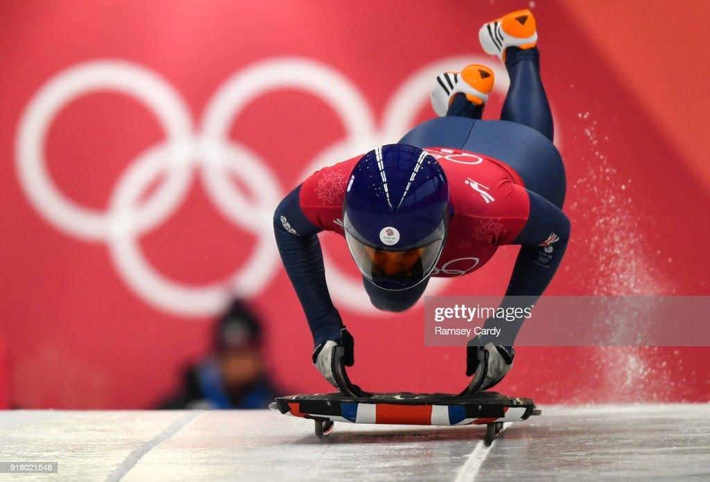 Skeleton Training - Winter Olympics Day 5 : News Photo