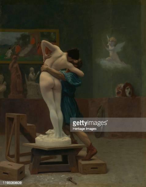 Pygmalion and Galatea, circa 1890. Artist Jean-Leon Gerome.