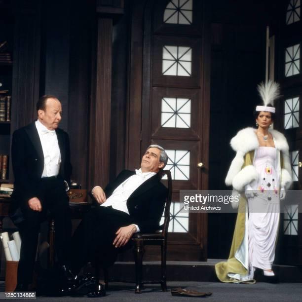 Pygmalion, Fernsehfilm, Deutschland 1980, Regie: Rolf von Sydow, Darsteller: Erik Ode, Karl Heinz Vosgerau, Uschi Glas.