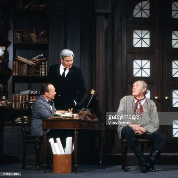 Pygmalion, Fernsehfilm, Deutschland 1980, Regie: Rolf von Sydow, Darsteller: Erik Ode, Karl Heinz Vosgerau, Alexander Golling.