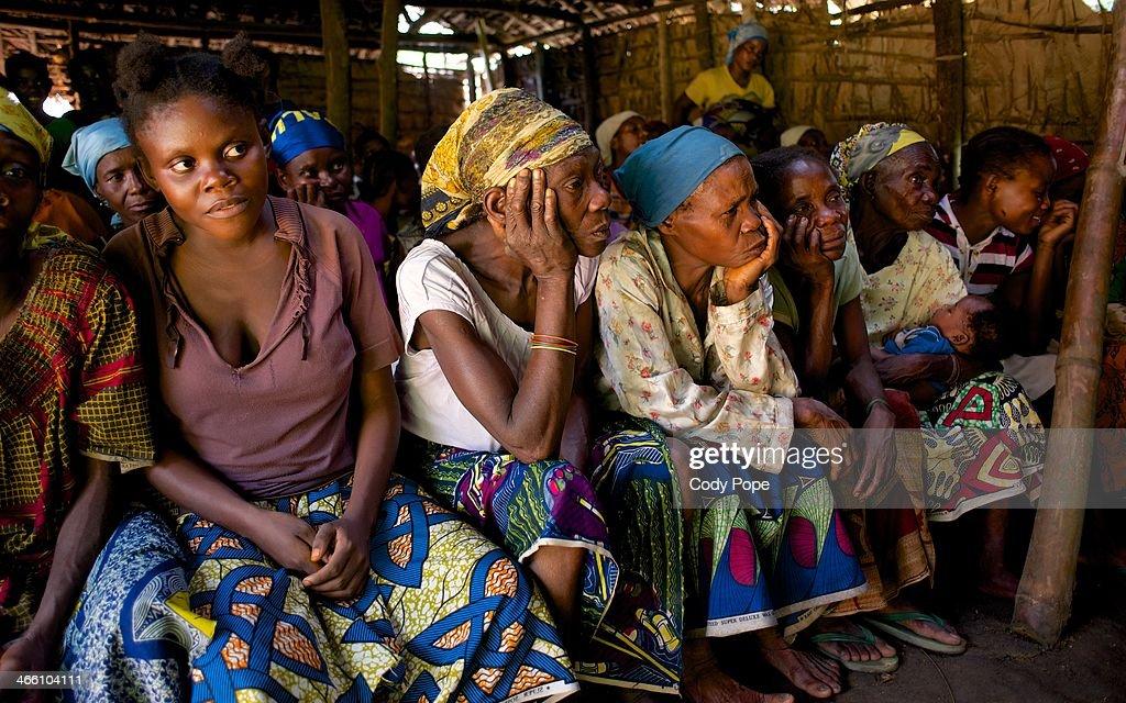 Batwa Women Learn to Read and Write : News Photo