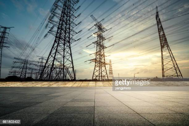 Pylon and the road