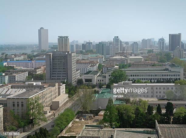 pyongyang, capitale de la corée du nord - pyongyang photos et images de collection