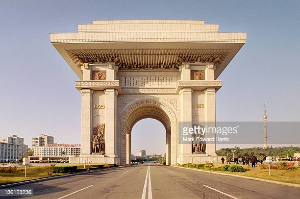 Pyongyang's 197 foot Arch of Triumph