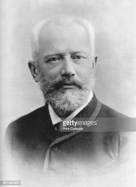 Pyotr Ilyich Tchaikovsky Russian composer A print from Les Musiciens Celebres Lucien Mazenod Paris 1948