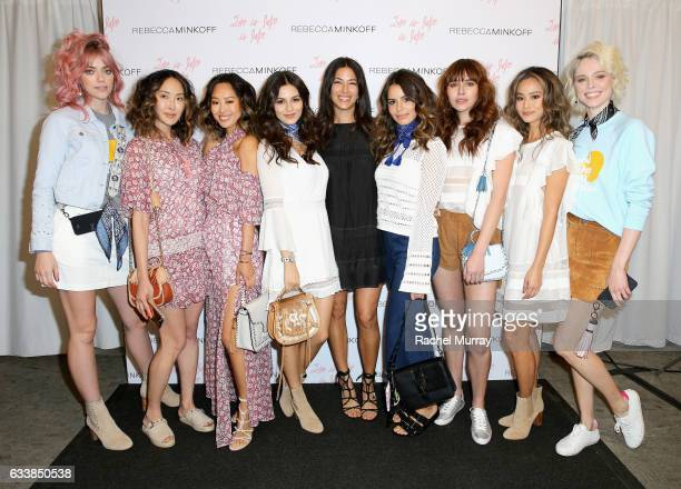 Pyper America Smith Chriselle Lim Aimee Song Victoria Justice designer Rebecca Minkoff Maddy Justice Natalie Suarez Jamie Chung and Coco Rocha...