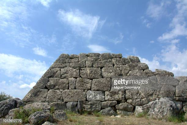 pyramid of hellinikon - ancient greece photos stock pictures, royalty-free photos & images