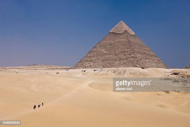 Pyramid of Khafra Cairo Egypt