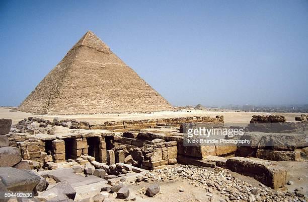 Pyramid of Khafre, Giza, Cairo, Egypt