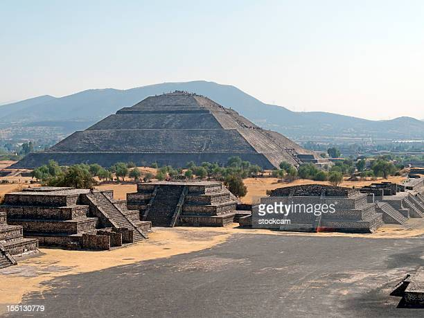 Pyramide der Sonne von Teotihuacan Mexiko