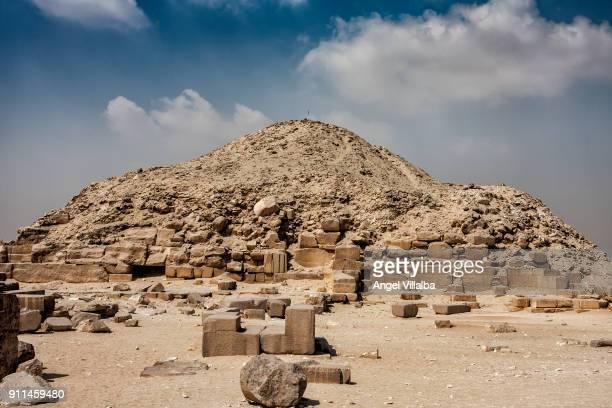 Pyramid of Unas in Saqqara
