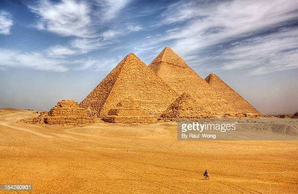 pyramid - egypt stock pictures, royalty-free photos & images