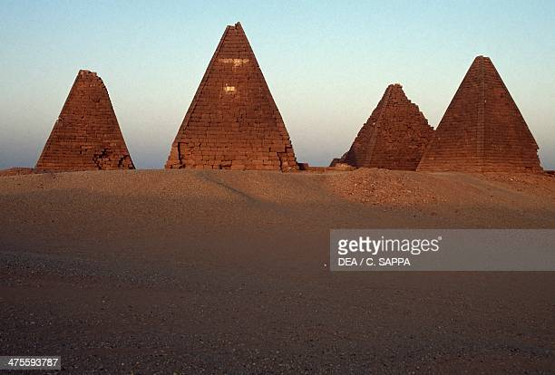 Pyramids of the black pharaohs Gebel Barkal and the Sites of the Napatan Region Nubia Sudan Egyptian civilisation Dynasty XXV