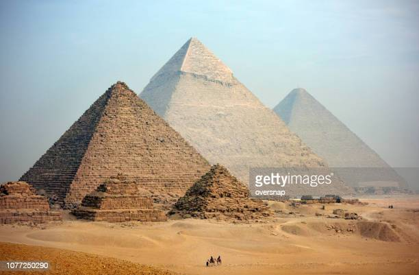 pyramids - egypt stock pictures, royalty-free photos & images