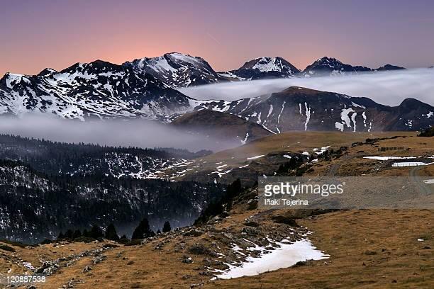pyrenees in navarra - iñaki mt stock photos and pictures