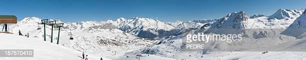 Pirineos complejo turístico de esquí