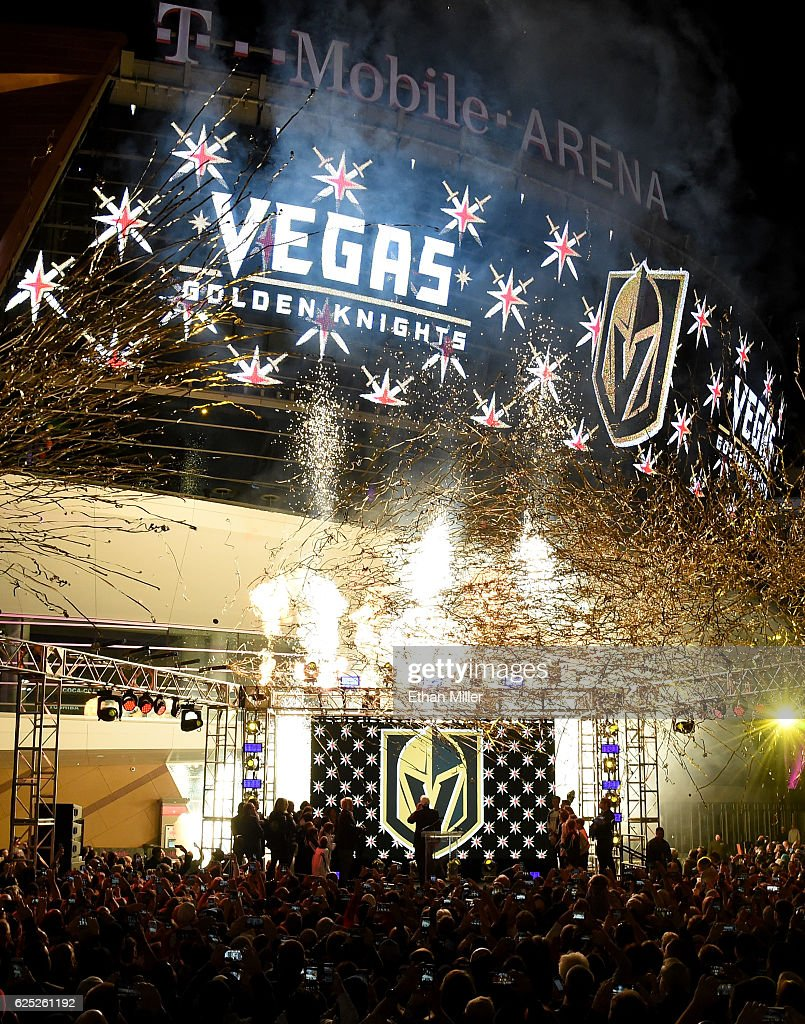 Las Vegas NHL Franchise Reveals Team Name And Logo : News Photo