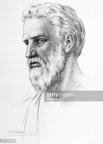 Pythagoras Greek philosopher and mathematician generally credited with the theory of the functional significance of numbers in the objective world...