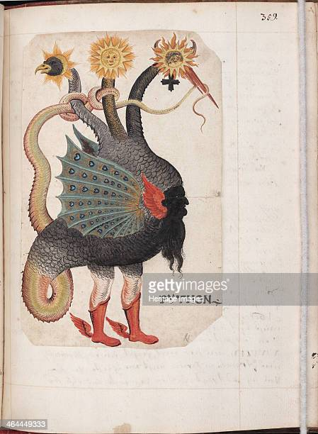 Alchemical and Rosicrucian Compendium ca 1760 Found in the collection of the Yale University