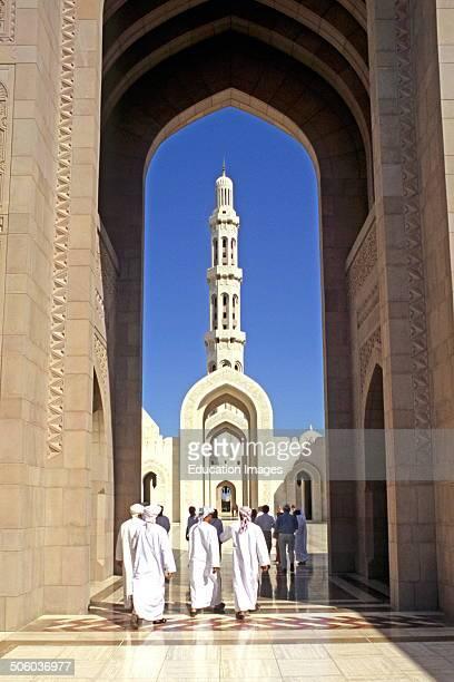 Qabbos Bin Said Mosque Muscat Oman Asia
