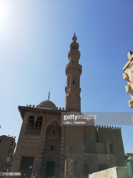 Qaitbay mosque at mamluk desert, Cairo