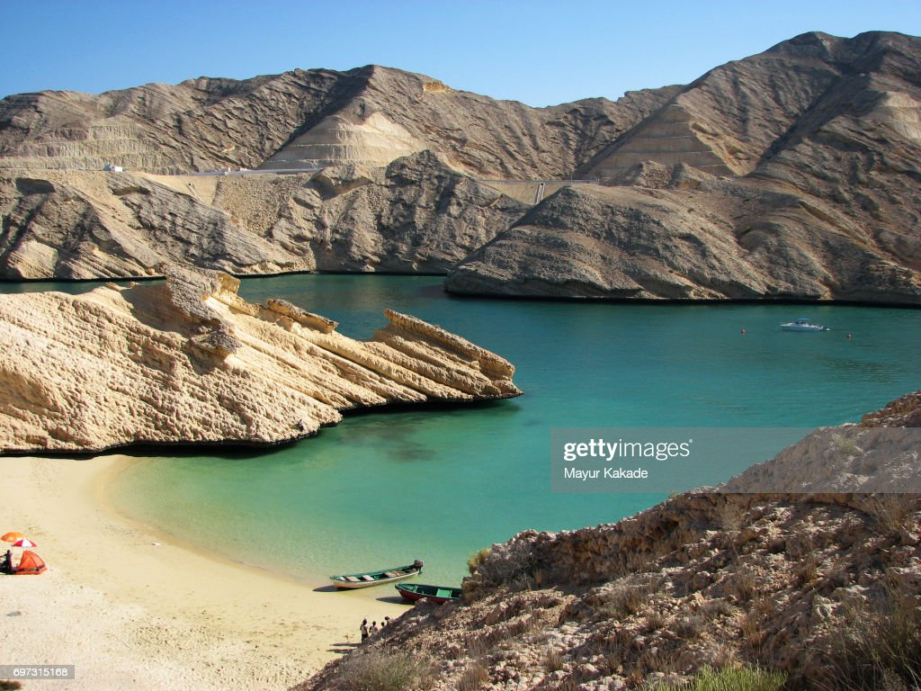 Qantab Beach, Oman : Stock Photo