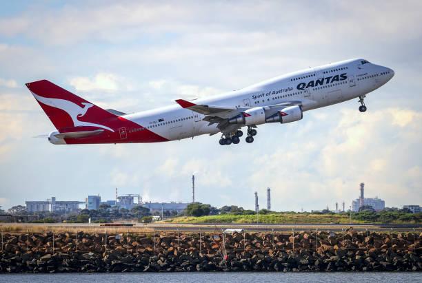 AUS: Final Operational Flight For 747 Jumbo Jet Ahead Of Retirement From Qantas Fleet