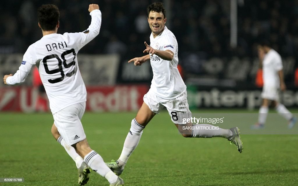 FBL-EUR-C3-PAOK-QARABAG : News Photo