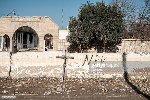 Qaraqosh December 27 2016 NPU graffitiThe offensive to retake Iraqs second city from Islamic State of Iraq and the Levant began in midOctoberShortly...
