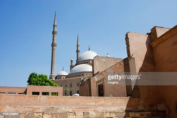 Qasr Al Gawhara Or Jewel Palace And Mohammed Ali Mosque In The Citadel Of Cairo Al Qahirah Egypt