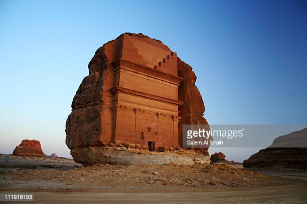 qasr farid tomb - saudi stock pictures, royalty-free photos & images