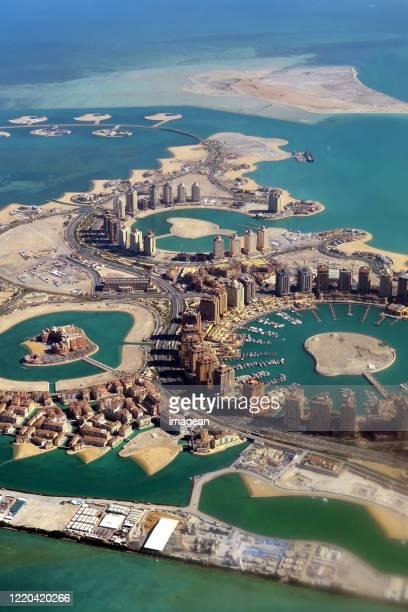catar de cima - qatar - fotografias e filmes do acervo