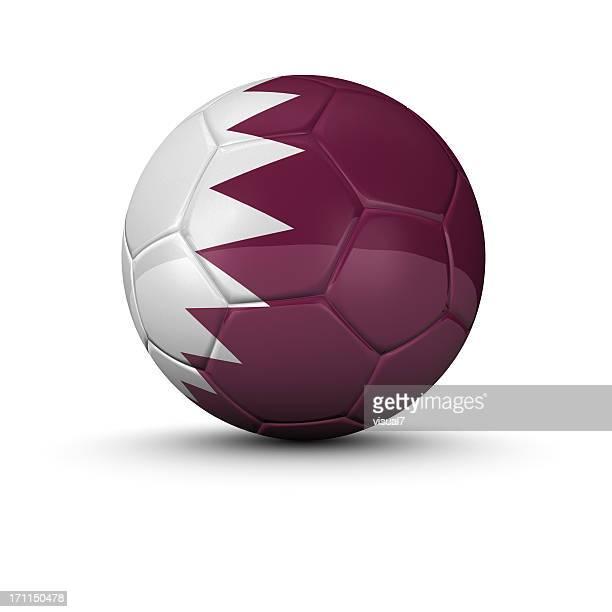 qatar ballon de football - qatar photos et images de collection