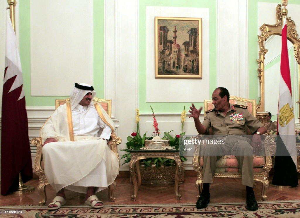 EGYPT-QATAR-DIPLOMACY : News Photo