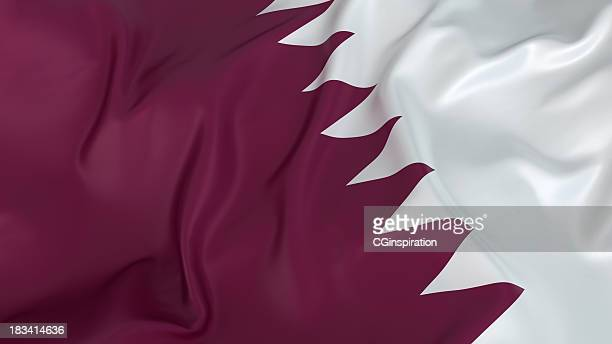 qatari flag - flag stock pictures, royalty-free photos & images