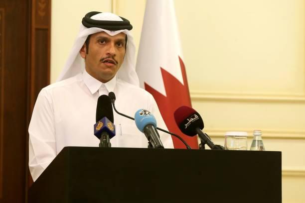 Qatari Foreign Minister Sheikh Mohammed Bin Abdulrahman Al Thani