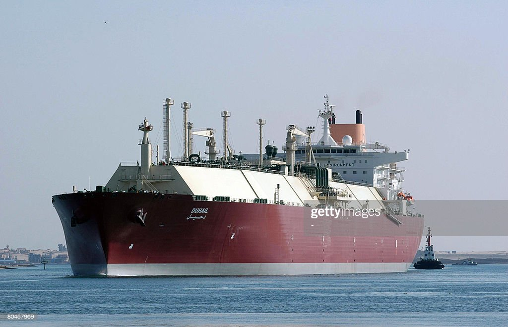 Qatari Liquefied Natural Gas (LNG) carri : News Photo