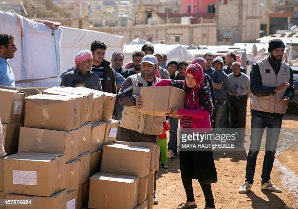 A Qatari nongovernmental organisation one of three currently operating relief groups in the eastern Lebanese town of Arsal after international...