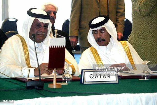 Qatari Oil Minister Abdullah bin Hamad alAttiyah waits in the conference room on the last day of the Organization of Petroleum Exporting Countries...