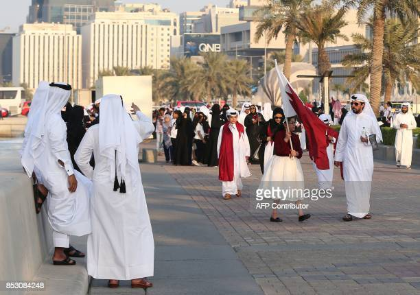 Qataris take to the streets of Doha to welcome back the Emir upon his returned from his first trip abroad during the ongoing Gulf diplomatic crisis...