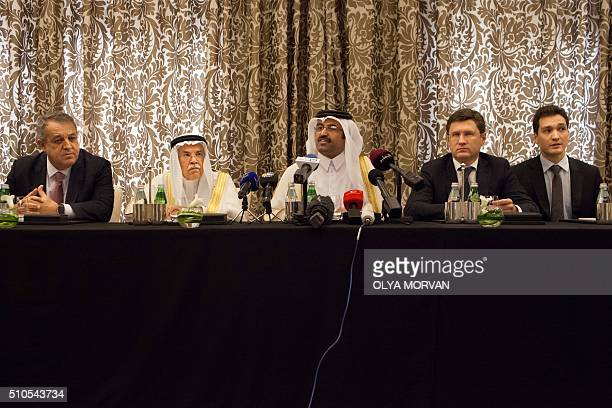 Qatar's Minister of Energy and Industry Mohammed Saleh alSada Saudi Arabia's minister of Oil and Mineral Resources Ali alNaimi Venezuela's minister...