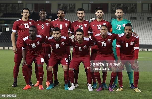Qatar's starting eleven Sebastian Soria Yasi Abubakar Isa Kasola Mohamed Boualem Khoukhi Ibrahim Mahed Saad alSheib Almoez Ali Luiz Mairton Junior...