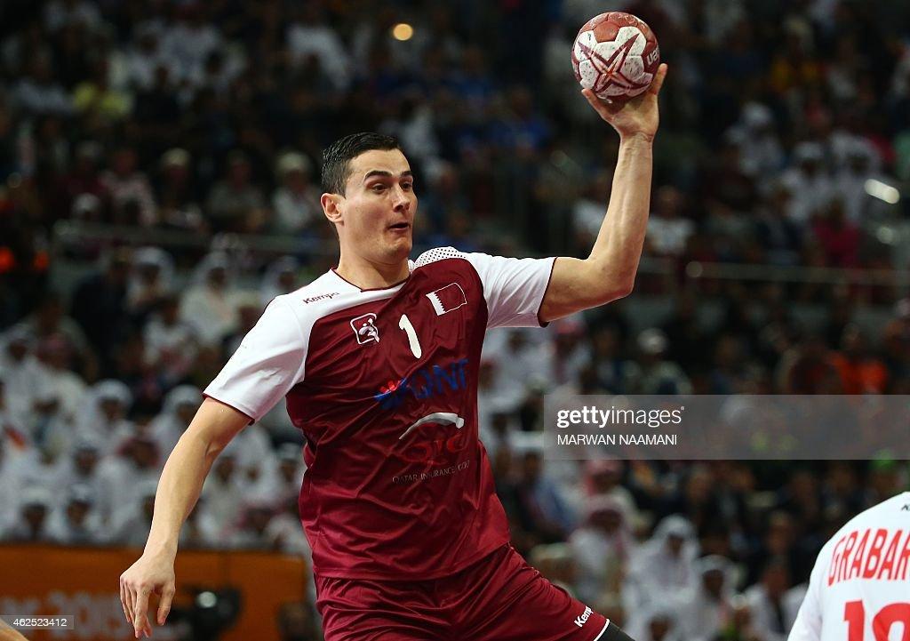 Qatar's Zarko Markovic jumps w...